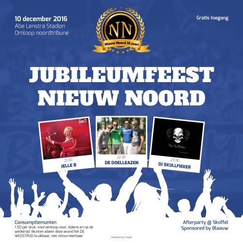Jubileumfeest NN 2016