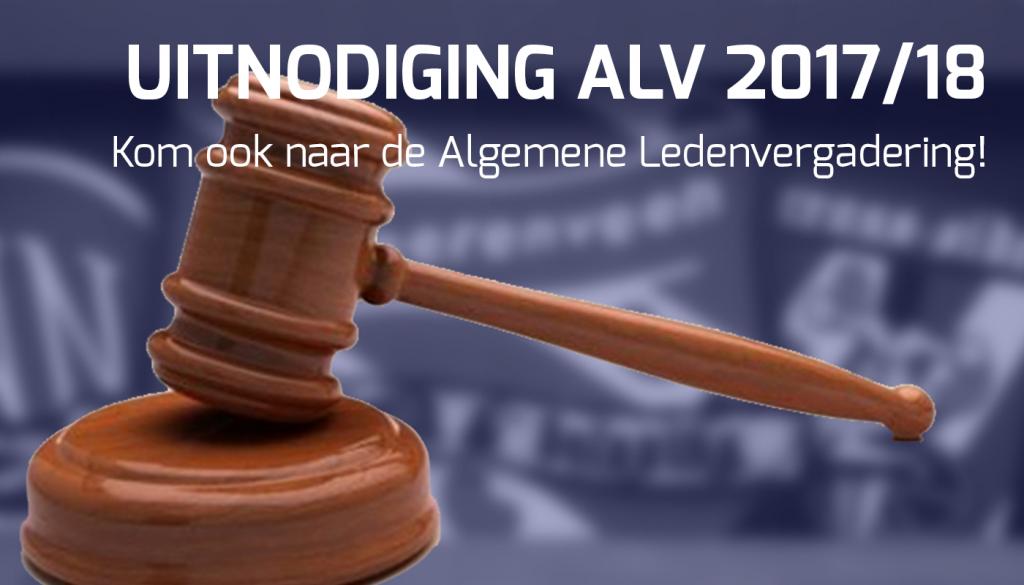 Algemene ledenvergadering 2017/2018