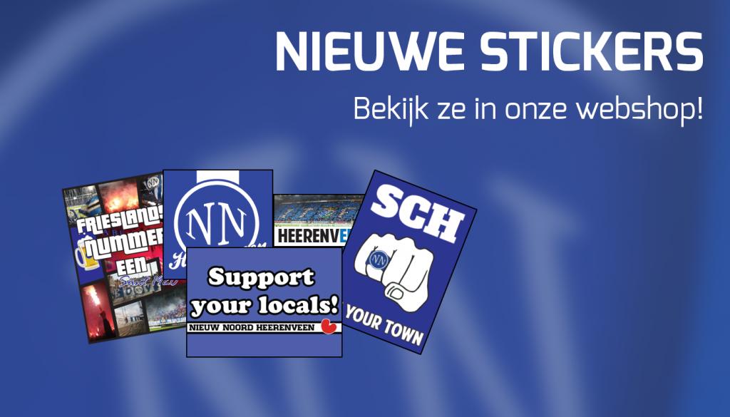 Nieuwe stickers
