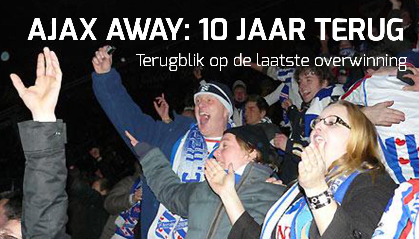 Ajax away: 10 jaar geleden