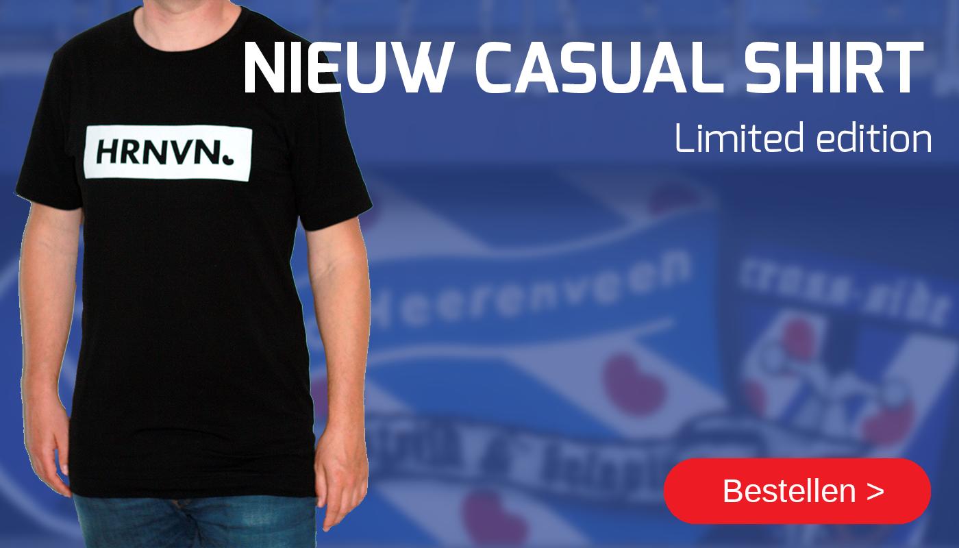 bestel ons nieuwe casual shirt