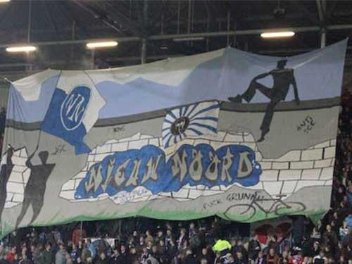 Wij slechten de Berlijnse muur